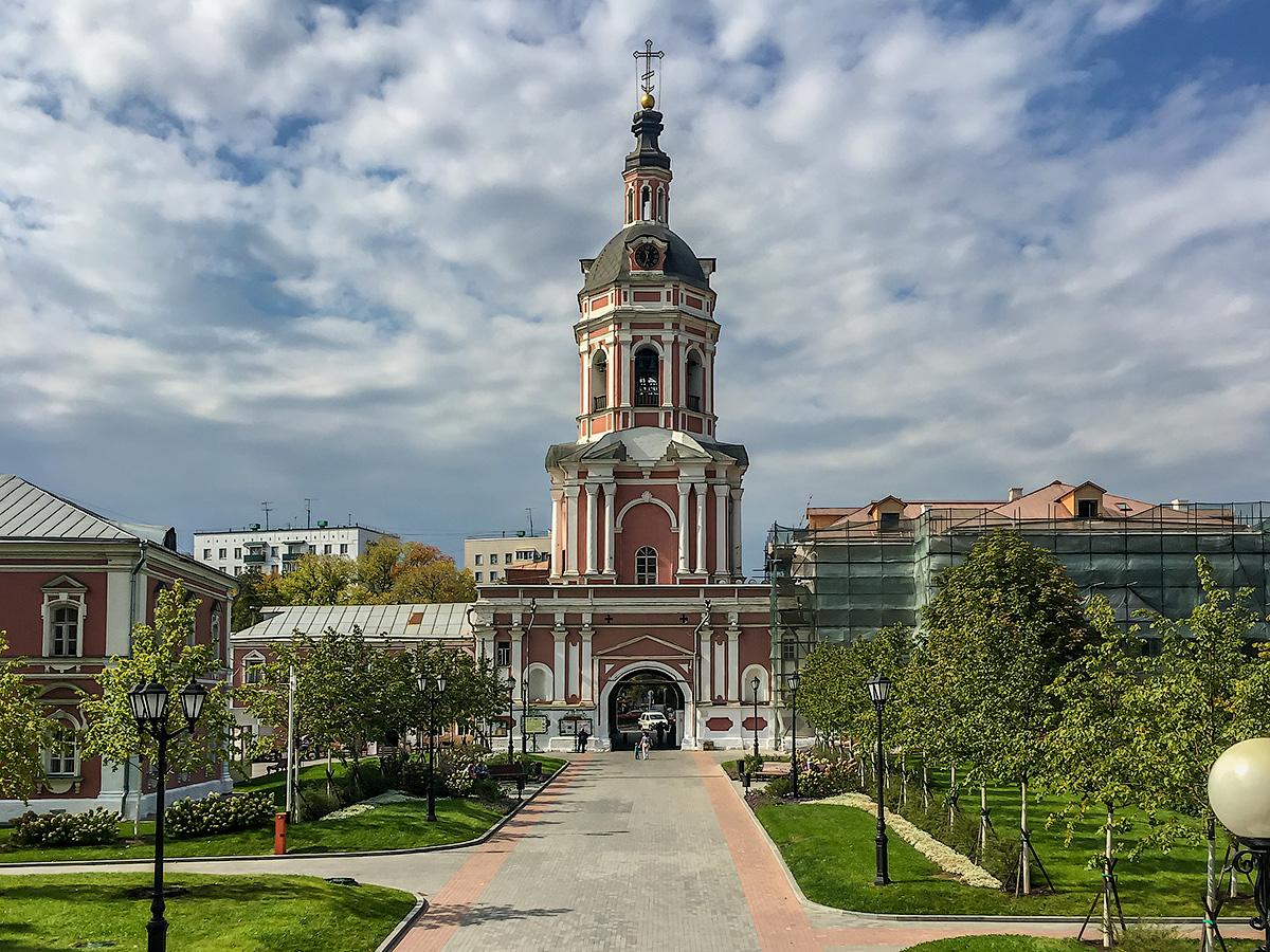 Открывая столицу. Донской монастырь.