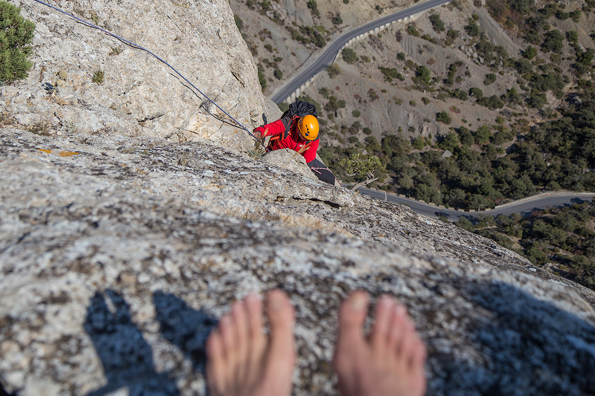 Что вы знаете о прелестях скалолазного альпинизма в Крыму?