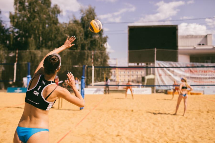 Финал по пляжному волейболу в Орле