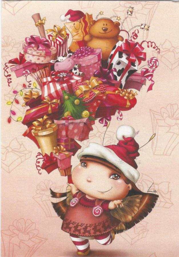 Подарок феи открытка