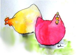 EasterChickens
