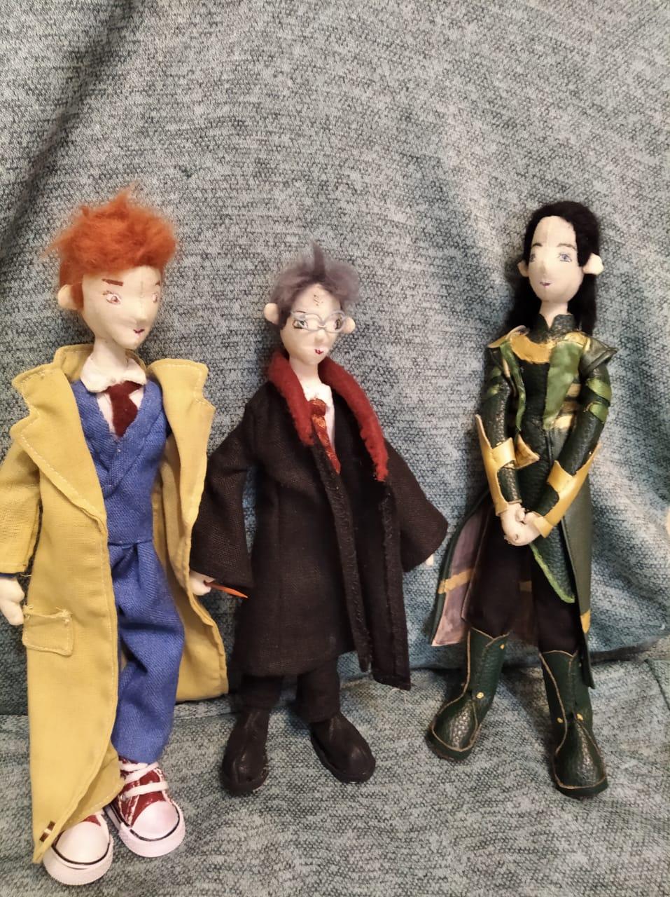 Доктор Кто, Гарри Поттер и Локи