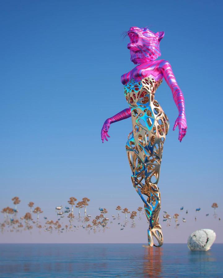 художник-фрилансер Chad Knight / цифровой арт