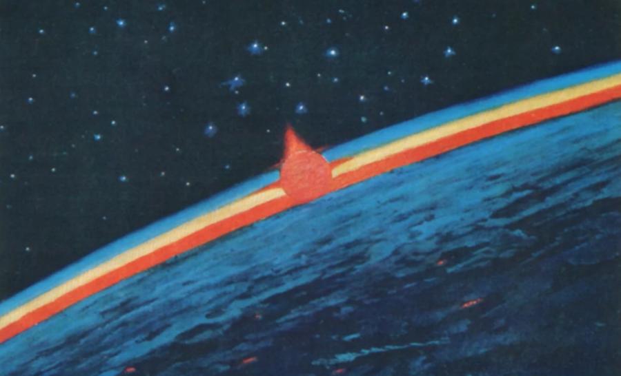 космическая живопись Алексея Леонова / 30 мая 1934 -11 октября 2019