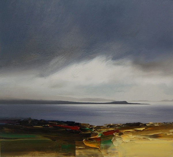 Bushe Passing Clouds, loch Indaal