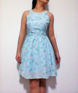 thevelvetdolls baby blue floral dress