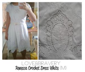 lab renessa crochet dress