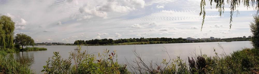 Чижовское водохранилище. Панорама