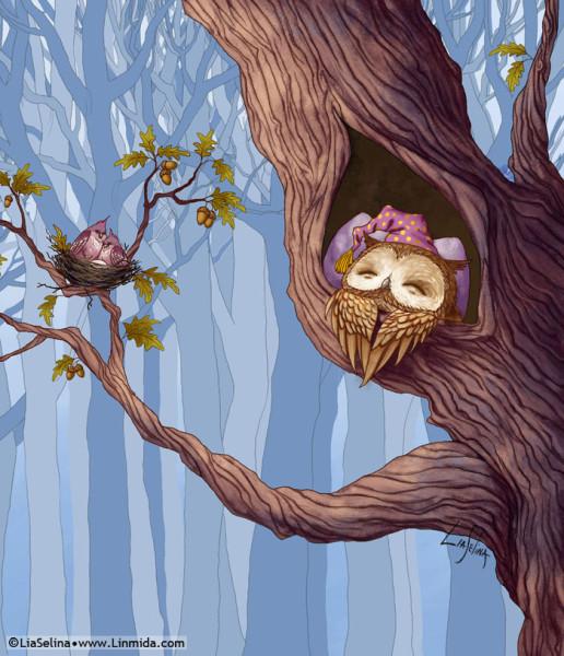 Owl _1--