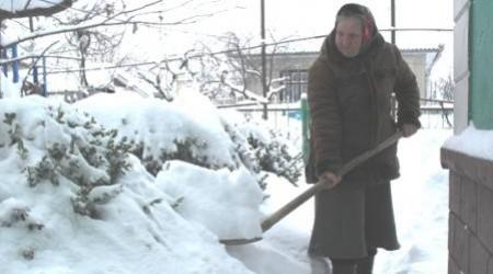 Север Молдовы в снежном капкане