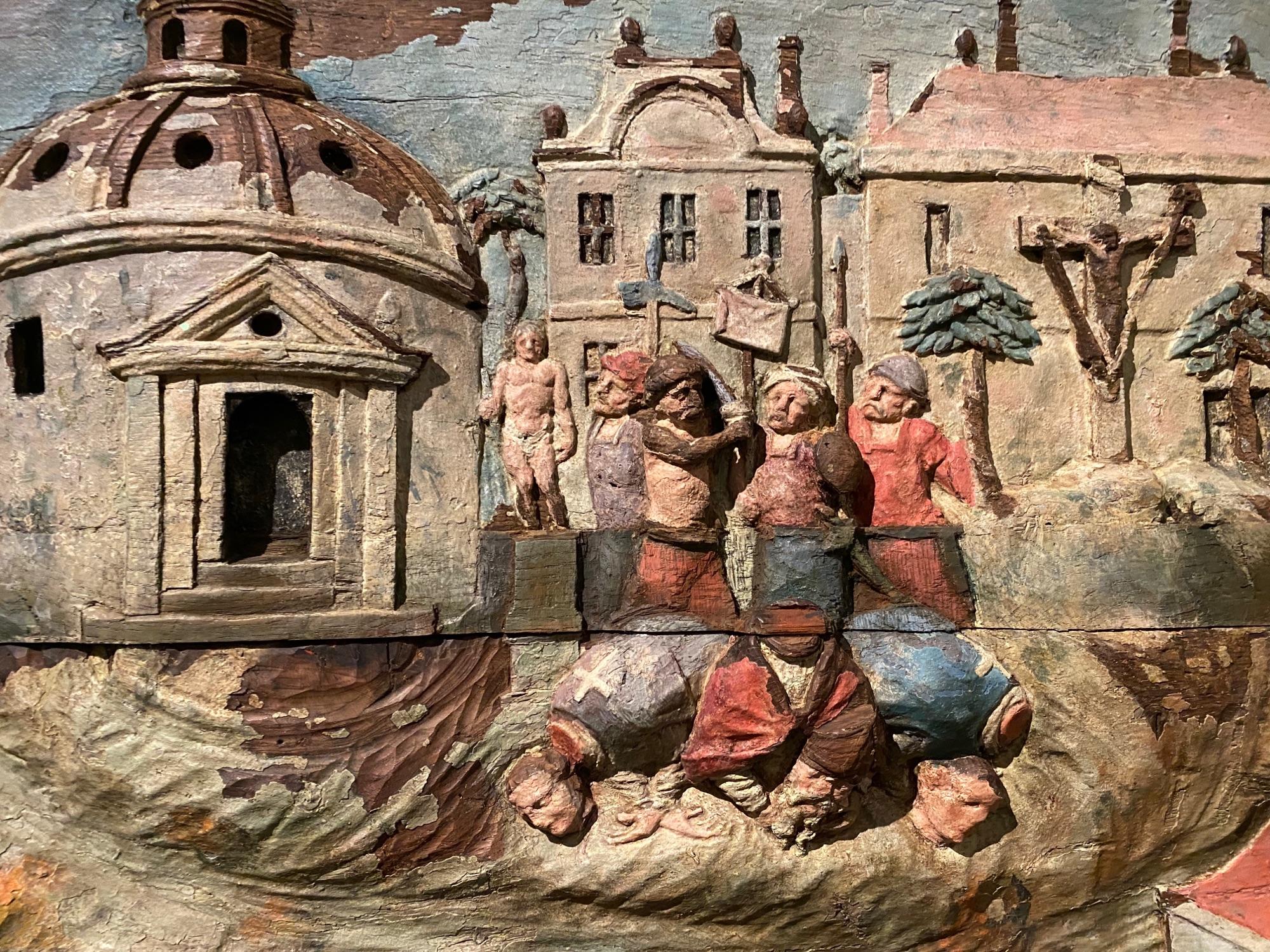 Картинка мучеников на Монмантре. Все мучаются, не зимними шинами, так чем нибудь еще.