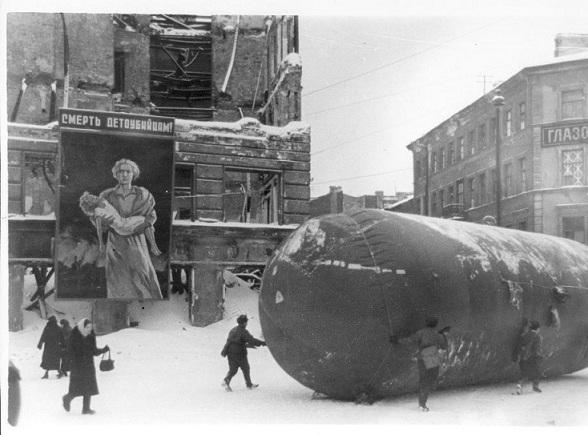 Редкие фото блокадного Ленинграда nibler.ru
