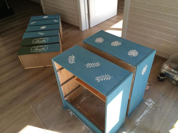IKEA: еще одно преображение комода РАСТ