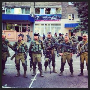 2014.05.25 - Мирные граждане Северного Кавказа приехали по путёвкам в ДНР