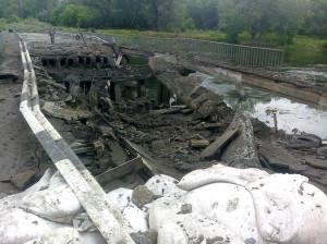 2014.05.31 - ЛНР, между Рубежным и Лисичанском
