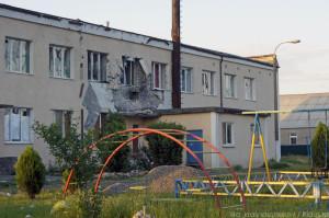 Славянск, хунта накрыла артобстрелом детский приют