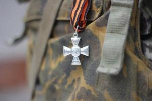 2014.06.21 - Георгиевский крест Героя Новороссии