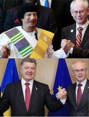 ливийская трагедия - украинский фарс