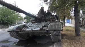 2014.08.17 - бригада «Восток» в Ясиноватой
