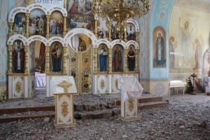 2014.09.04 - Храм в Новосветловке, ЛНР