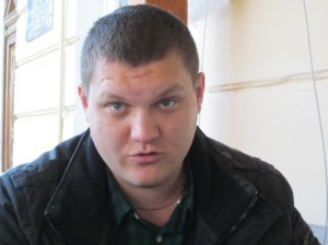 Боец крымского отряда «Беркут» Всеволод Орлов