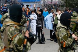2014.04.21 - Славянск