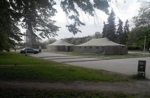 2014.04.29 - Харьков, армейские палатки на пл Свободы