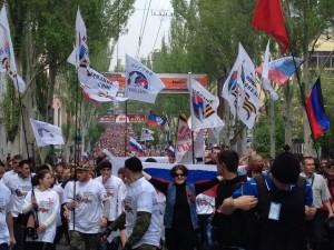 2014.05.01 - Донецк первомай