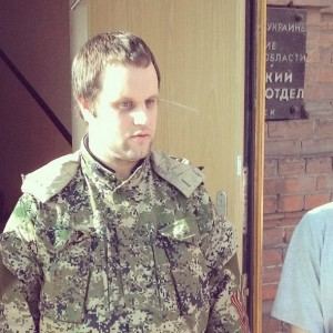 2014.05.07 - Славянск, Губарев на свободе