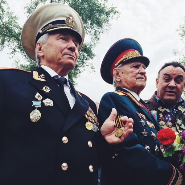2014.05.09 - Одесса - ветераны, фото Ирины Галушко
