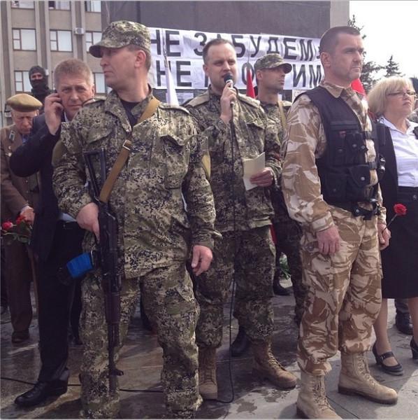 2014.05.09 - Славянск - Губарев, фото sashakots