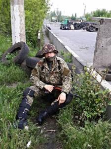 2014.05.13 - Сергей Гришин, вечная память бойцу Сопротивления!