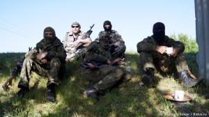 2014.05.17 - На привале, Славянск (фото @a_krasnoschekov)