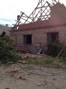 2014.05.19 - Последствия обстрела, Славянск