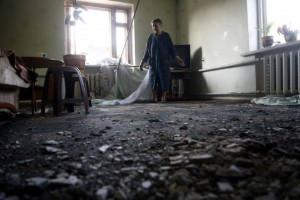 2014.05.22 - Славянск, артобстрел