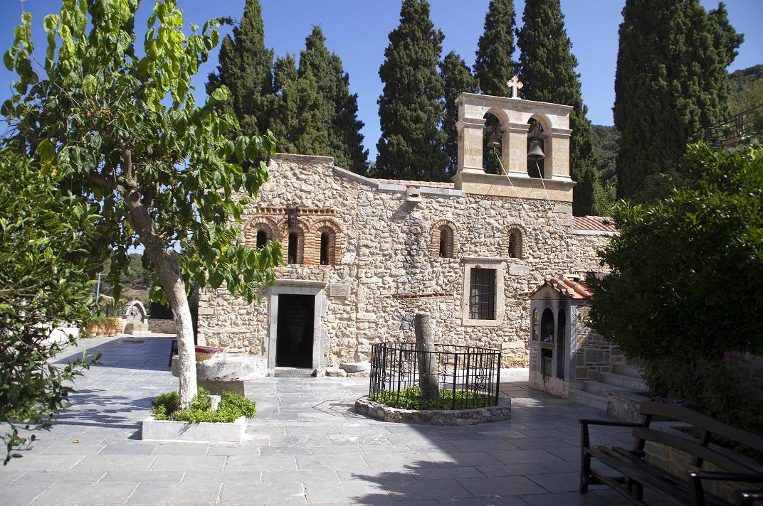 монастырь 8 века