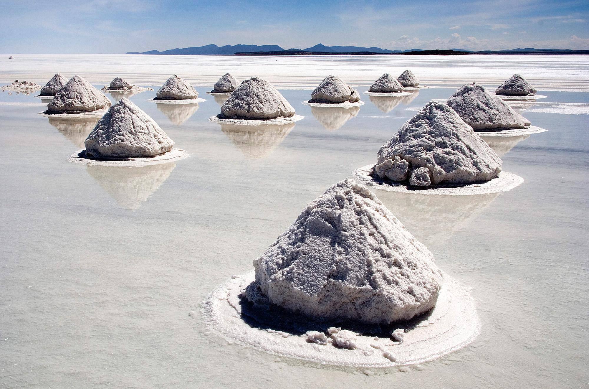 salt-mounds-in-bolivia