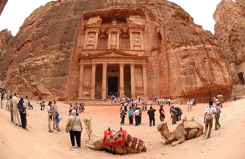 The Treasury (Al Khazna) of Petra of Jordan