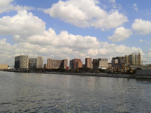 Заплыв по Нагатинскому затону и окрестностям (прогулка по Москва-реке за 79 руб.) -  — LiveJournal