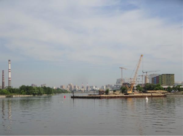 Прогулка на теплоходе по Москве-реке Москва