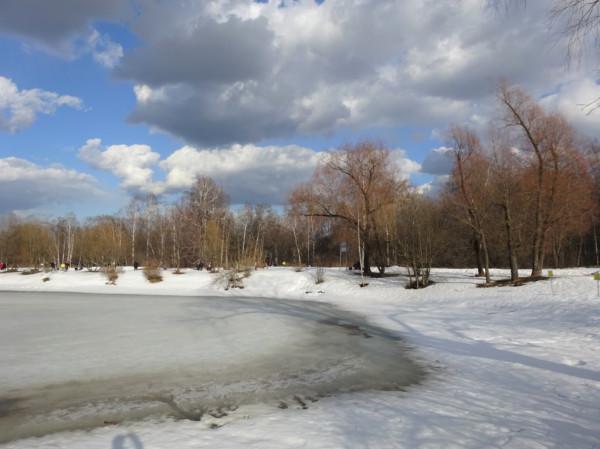 ГБС - стык зимы и весны в марте