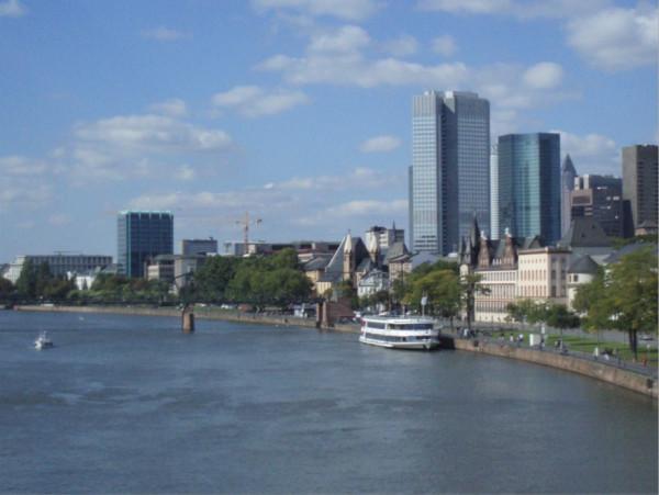 Франкфурт на Майне - главный бизнес-центр Германии -