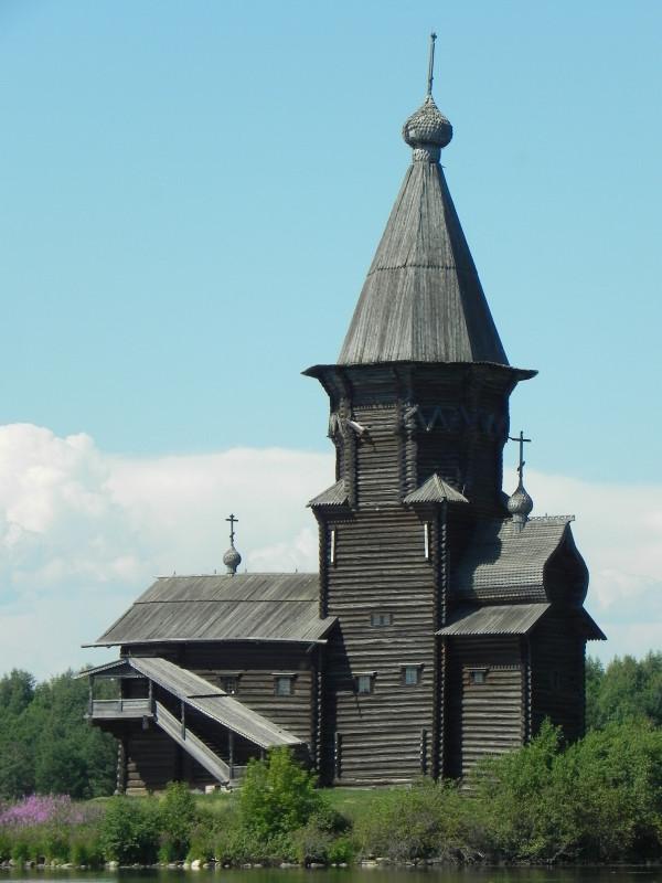 Кондопога, Карелия. Церковь Успения Пресвятой Богородицы, 1774 г. Часть первая.