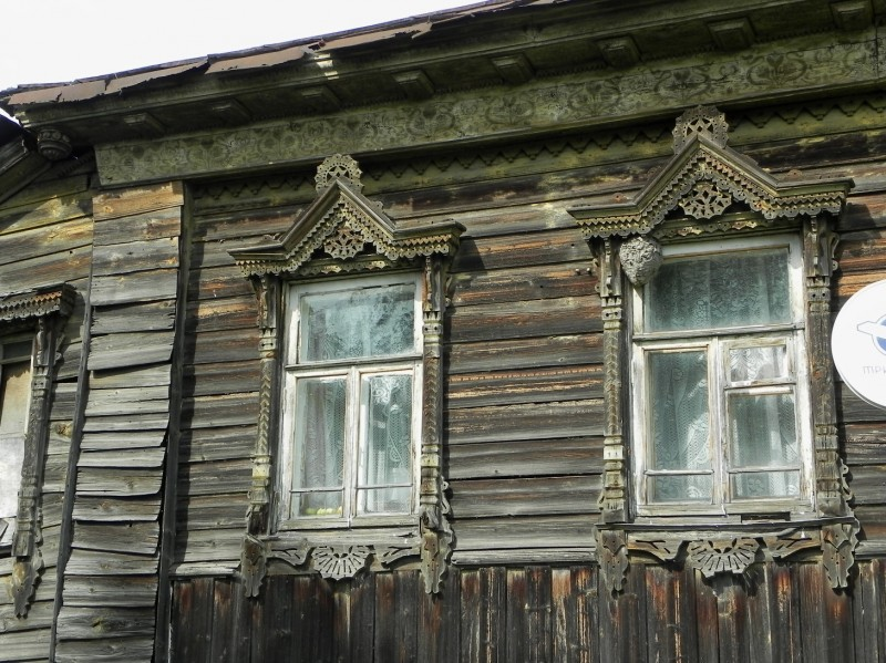 Галич, Костромская область. Часть вторая. Деревянная жилая застройка.