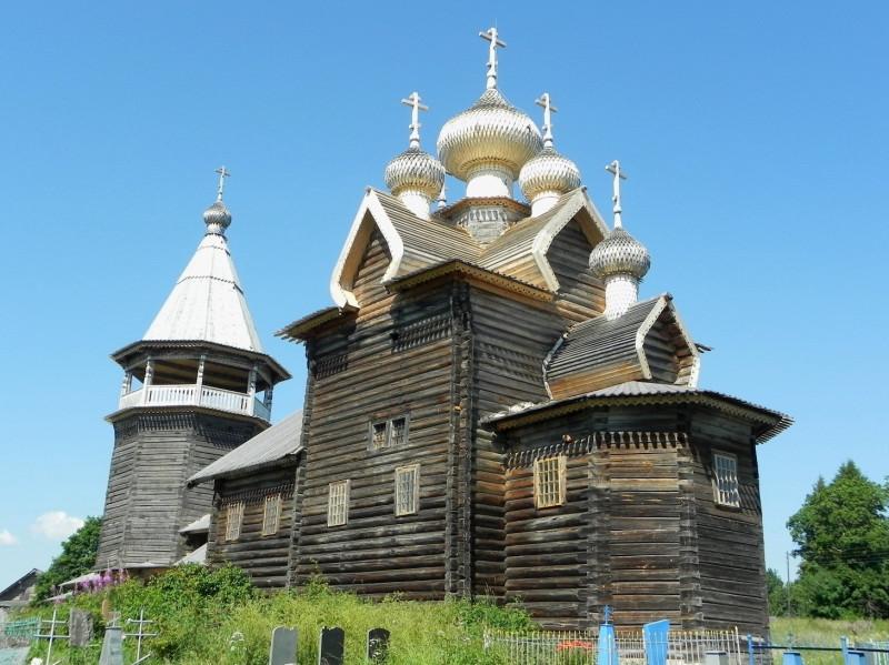 Деревня Щелейки, Подпорожский район Ленобласти. Церковь Димитрия Солунского, 1783 г
