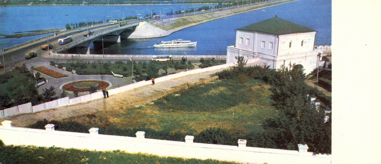 Kazan - Vid iz Kremlya na rechku Kazanku_resize