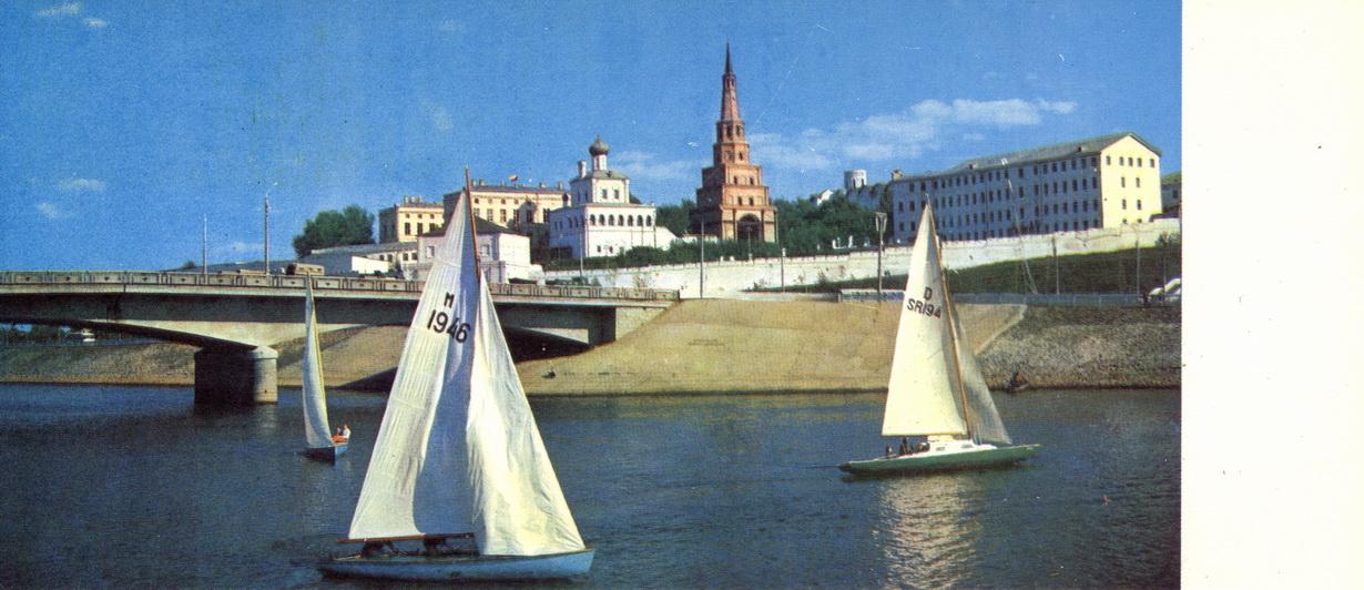 Kazan - Vid na Kreml s reki Kazanki_resize