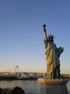 Replica of Statue of Liberty