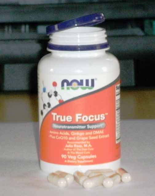 True Focus, Now Foods, 90 капсул