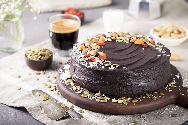 вегетарианские торты рецепты с фото